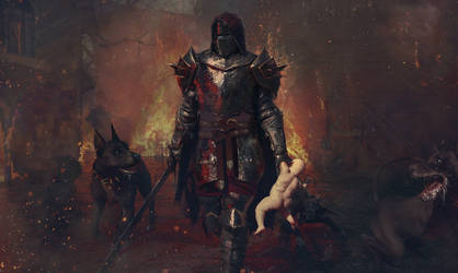 Fire, sword and hungry dogs