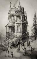 Steampunk house by Dani3lmatui