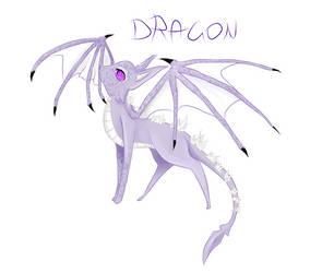 Dragon Eeveelution by Nightmare-Moon-L135