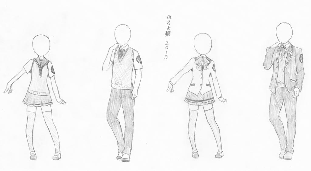 DA Kyoshitsu Uniform Season 2 by NokyoOkami