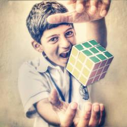 Rubiq's levitation