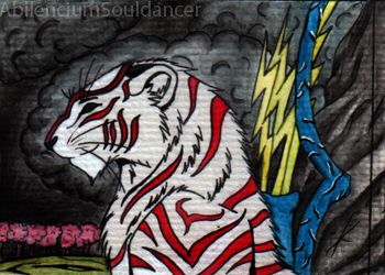 .:The Storm is comming:. ACEO by AbilenciumSouldancer