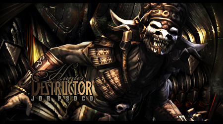 Hunter Destructor by Eunice55