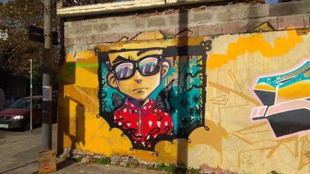 STREET ART OF SOUTH AMERICA - Living In A Gallery by angrybudcom