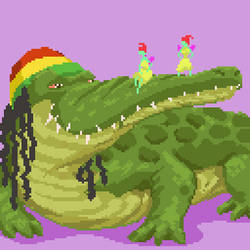 Flying Croc Sim - Cannabis Game by angrybudcom