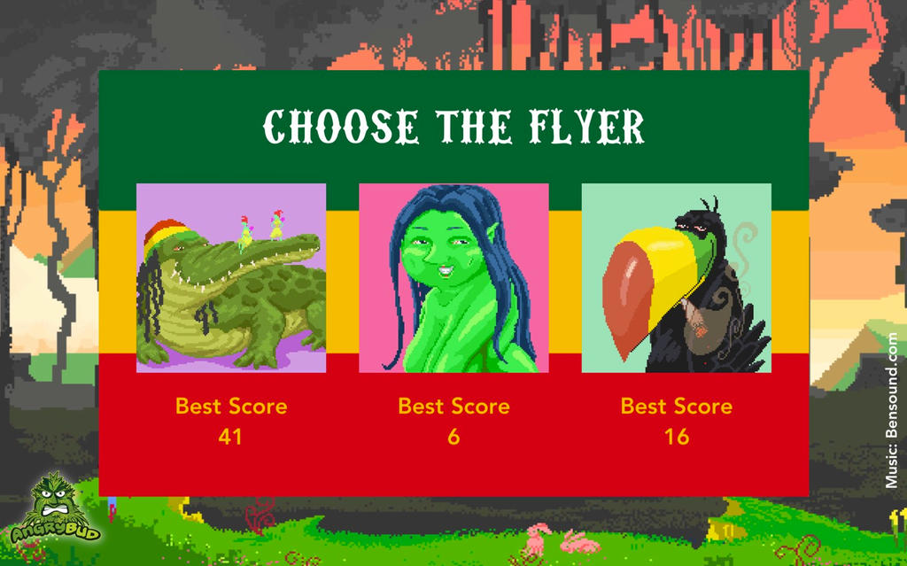 Flying Croc - the 420 Weed Game For Phone