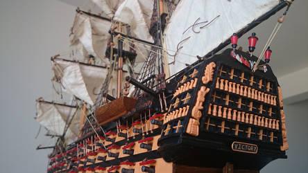 HMS Victory by angrybudcom
