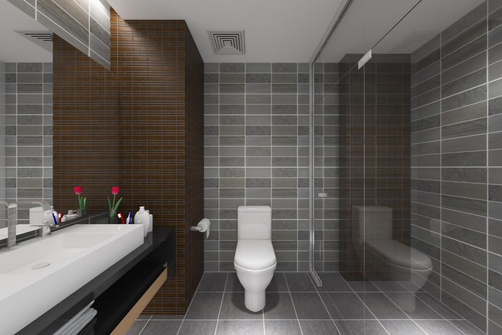 Standard bathroom design ideas by dcreator9 on deviantart for Regular bathroom decorating ideas