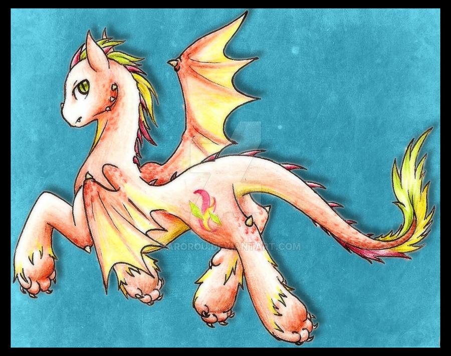 Dragon Pony - Diamond Blaze by Parorou