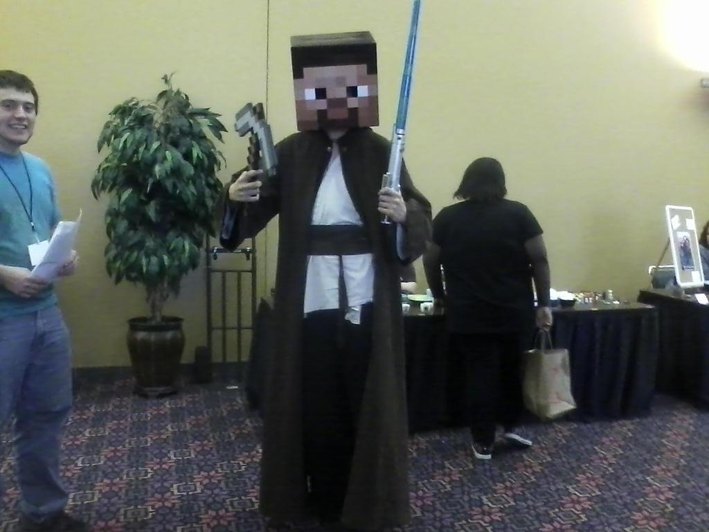 Jedi Steve by basslinekagamine