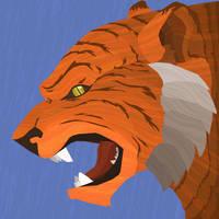 Wild Wednesday - Tiger by KahunaBlair