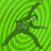 ThrongThursday -Elvis Costello by KahunaBlair
