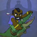 ThrongThursday-Mr.T Vs Gator
