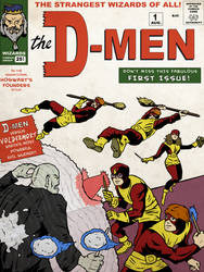 The D-Men - X-men+Harry Potter