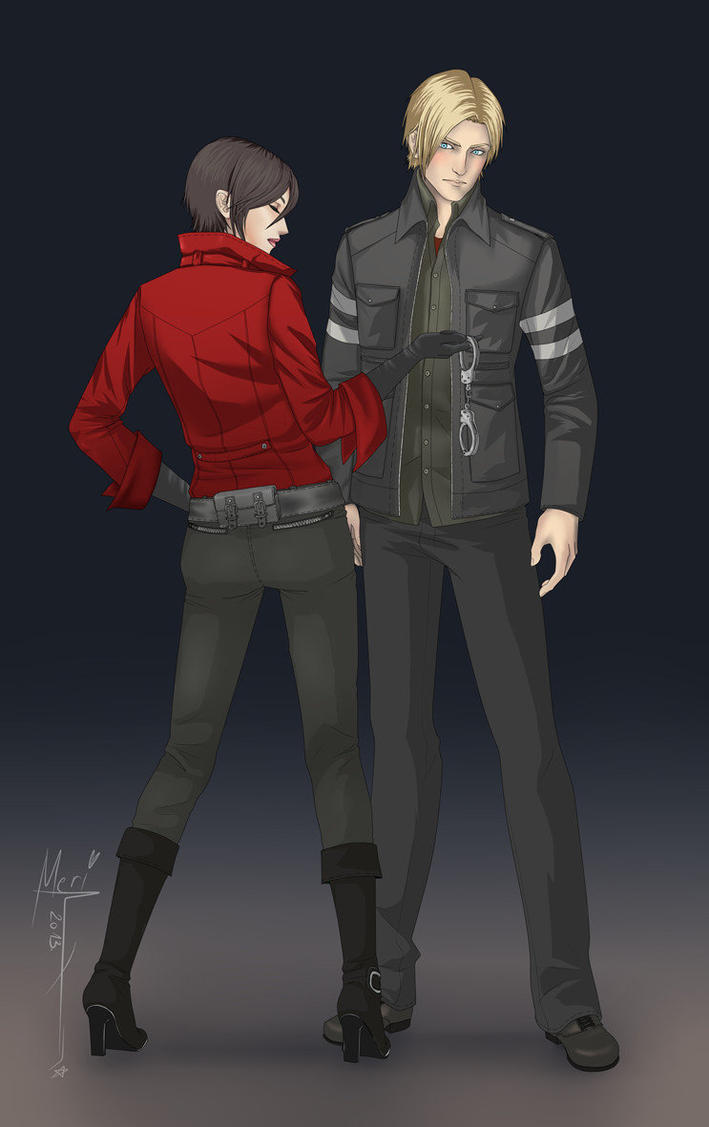 Request: Ada and Leon RE6 by cathrine6mirror