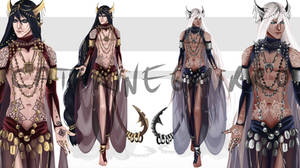 Adopt auction (CLOSED) Bellydance Brothers by cathrine6mirror