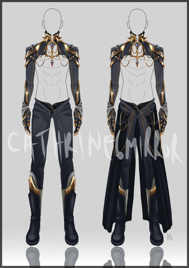 (CLOSED) Adopt Auction - Outfit 4 by cathrine6mirror on DeviantArt