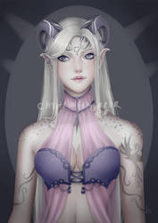 C: Poppy's elven girl by cathrine6mirror