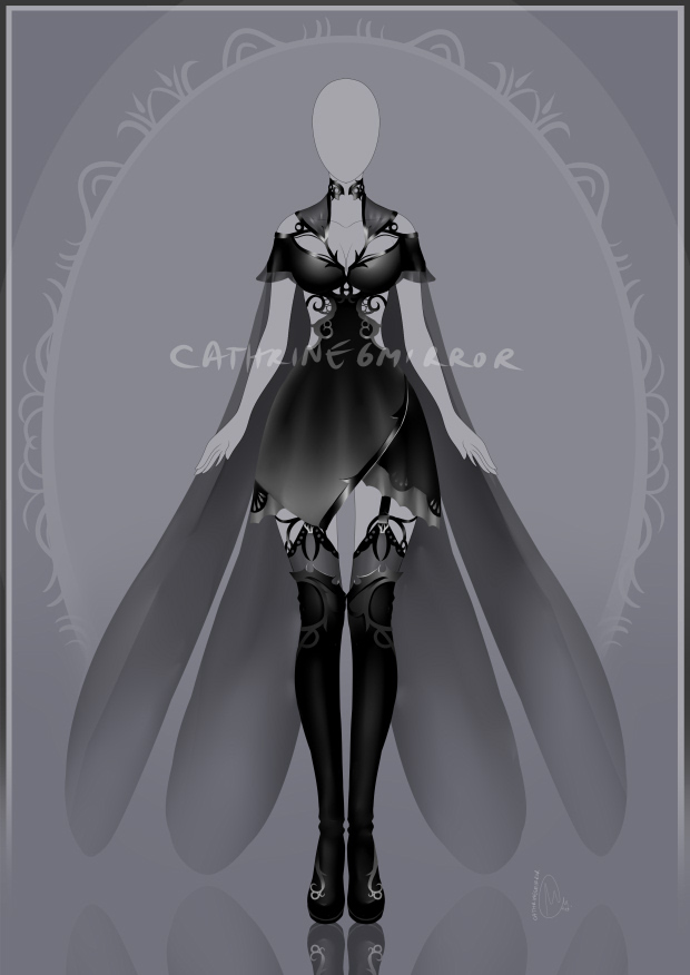 (CLOSED) Adopt auction - Outfit 86 by cathrine6mirror