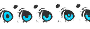 Step by Step (How to draw eyes)