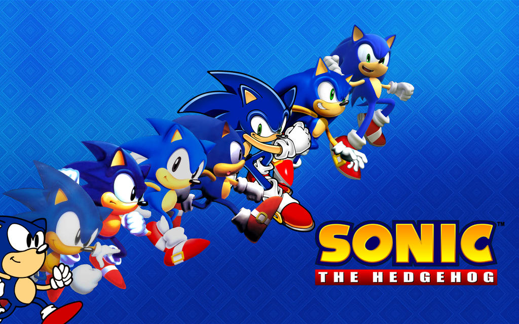 Sonic The Hedgehog TIME Wallpaper By XxNinja PikachaoxX