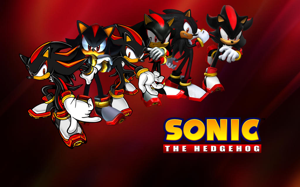 Shadow The Hedgehog TIME Wallpaper By XxNinja PikachaoxX