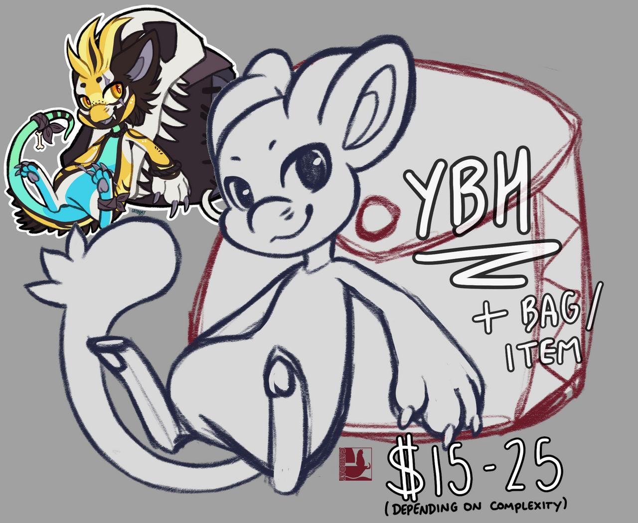[YCH] Giant Bag YBH - OPEN