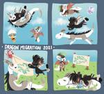 [Dragon Migration 2021] Tickets 1-4