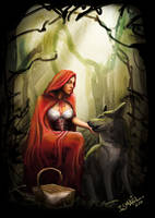 Red riding hood by ismaelArt