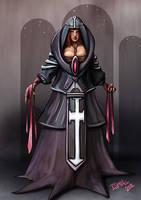 Priestess - Card Game by ismaelArt