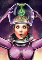 Cosmic Girl by ismaelArt