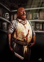 The Butcher by ismaelArt