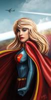 Supergirl by ismaelArt