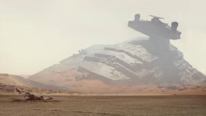 Star Wars 7 wallpaper trailer 2 by ismaelArt