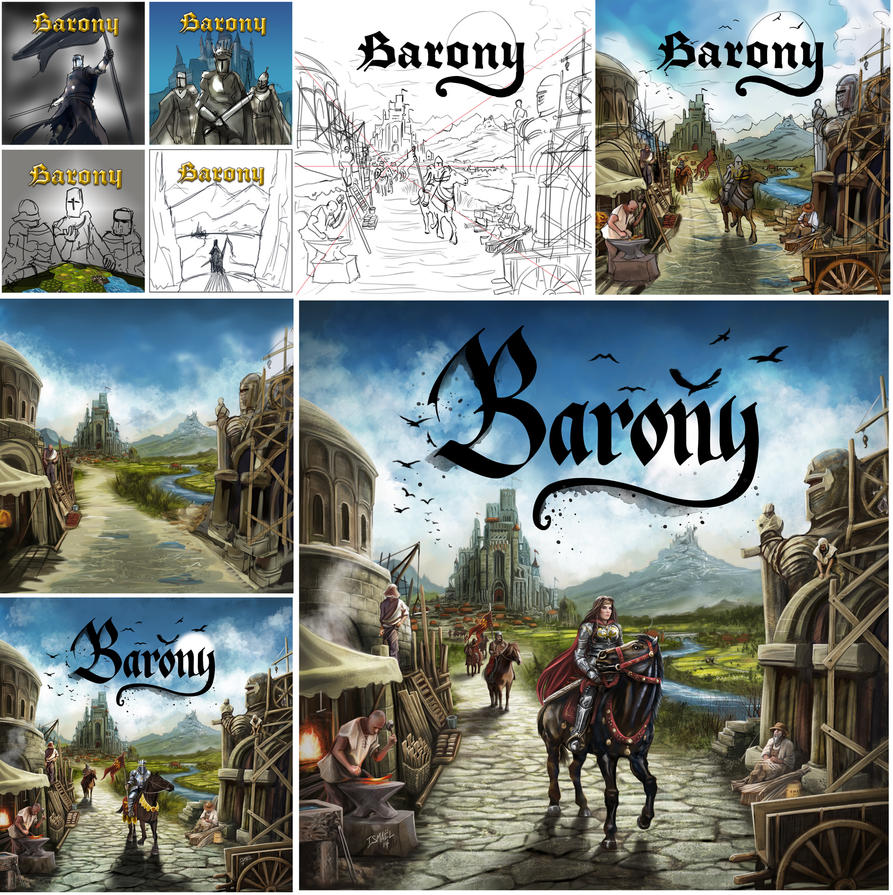 Work in Progress Barony cover by ismaelArt