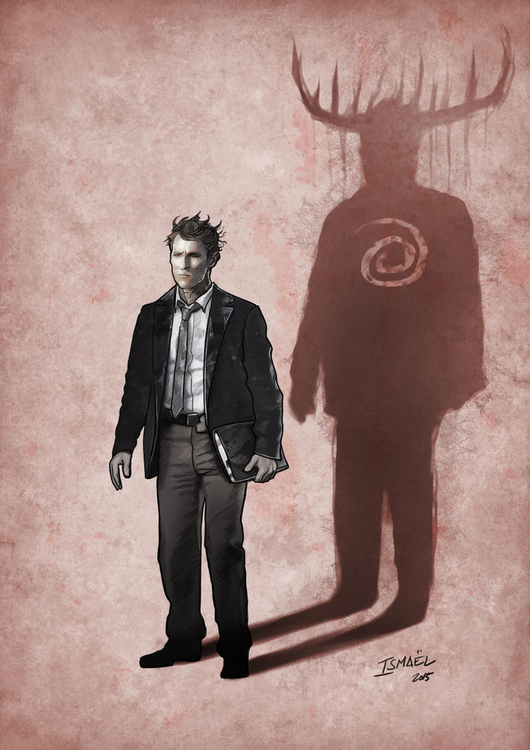 True Detective fan art by ismaelArt