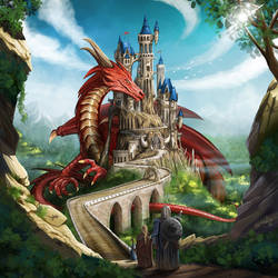 Dragon Keeper cover by ismaelArt