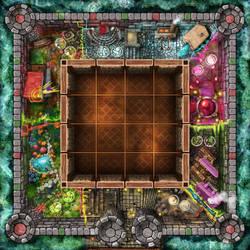Sabbat Magica board game by ismaelArt