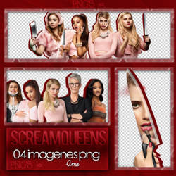 Scream Queens Photopack PNG #03