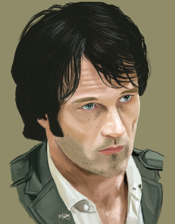 Bill Compton - True Blood by MarkAndrewNeilson