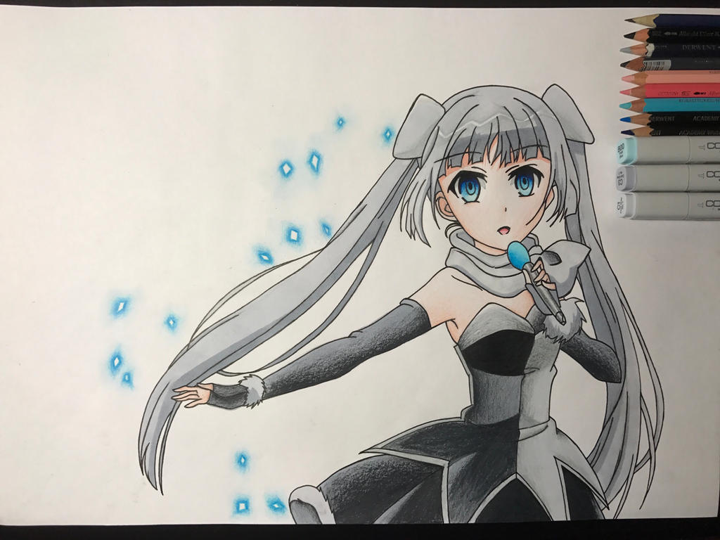 Miss Monochrome  by FinalFlash199