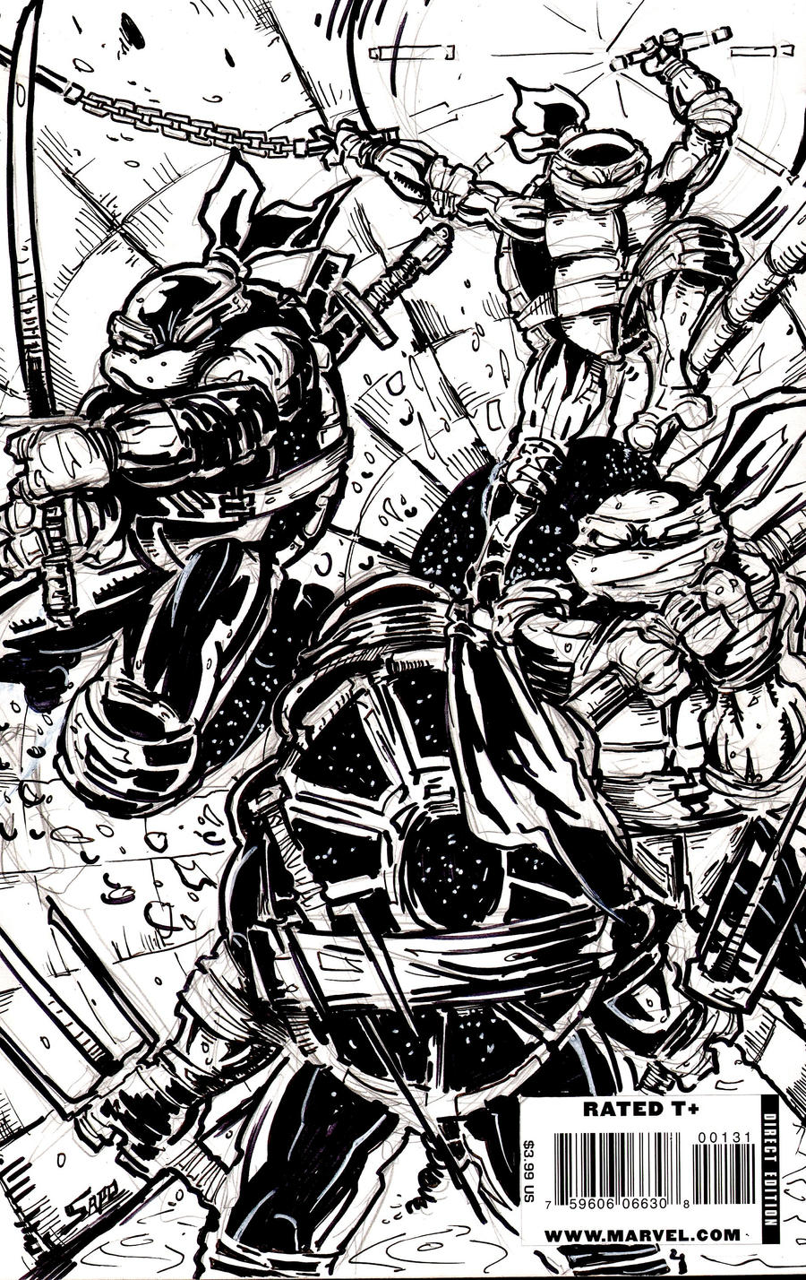 TMNT TURTLES..DEAD OR ALIVE by U-D0NT-KN0W-ME