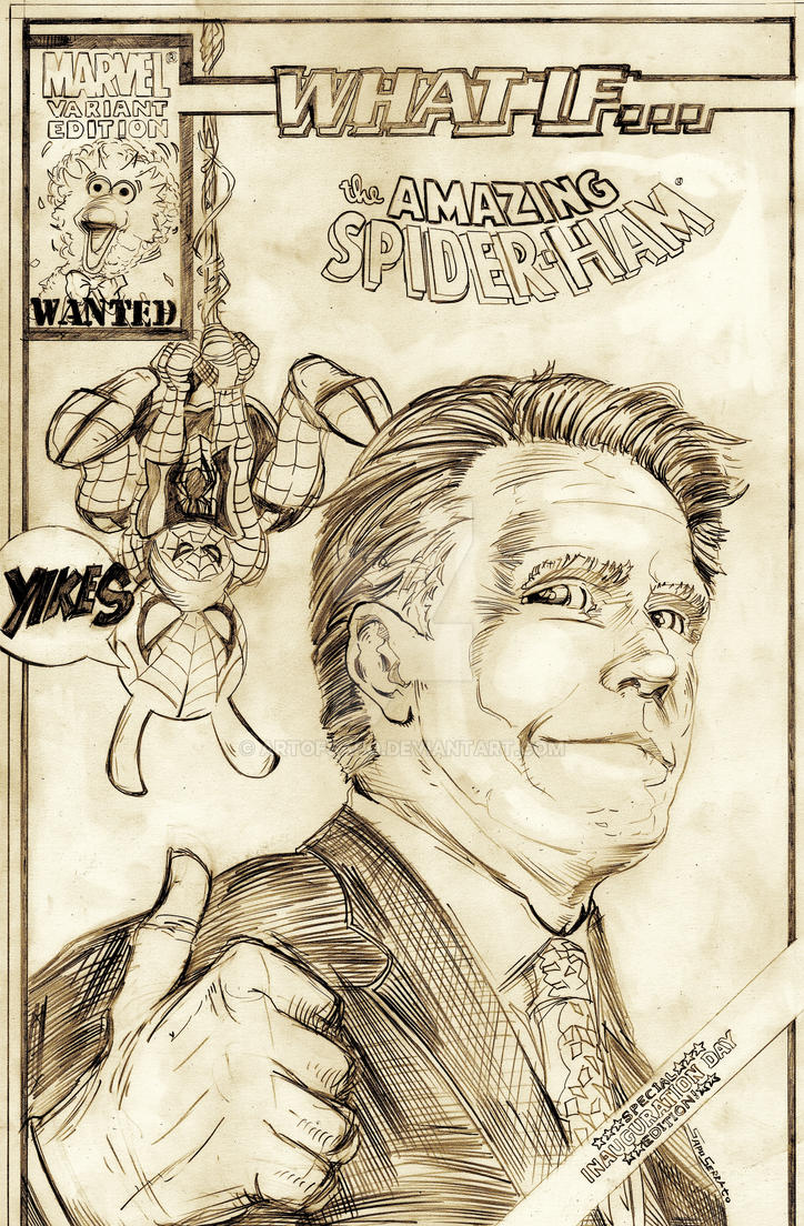 MARVEL WHAT IF?!? MITT ROMNEY  WON THE ELECTION by U-D0NT-KN0W-ME