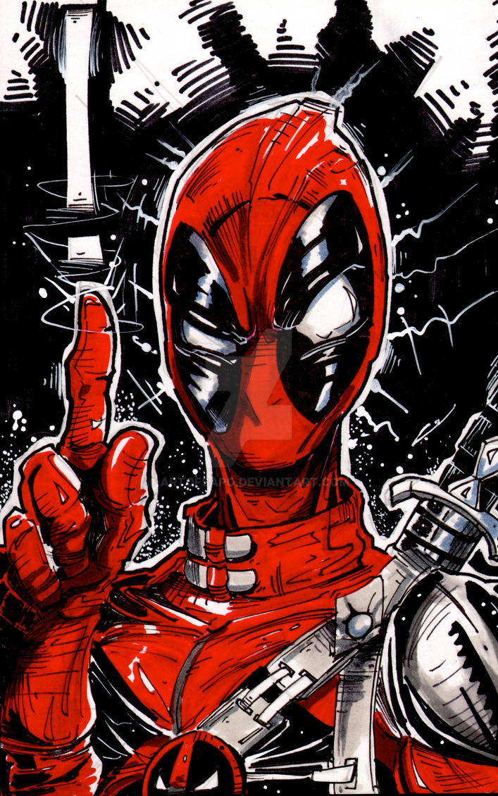 Deadpool Commish Cause The Pool Is Cool By Artofsapo On Deviantart