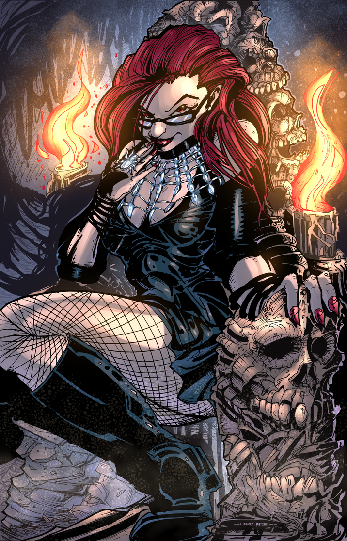 SCATTERED COMICS Forgotten Tales Cover COLORS by U-D0NT-KN0W-ME