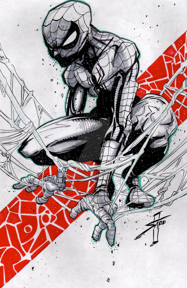 NEW SPIDER-MAN by U-D0NT-KN0W-ME
