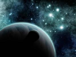 Deep Space by CommanderEVE