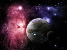 Bright Nebular by CommanderEVE
