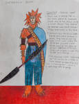 Stormainian Sketch by CommanderEVE