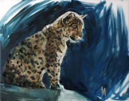 Adolescent Jaguar by AdamAntaloczy